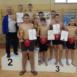 Puchar Polski Młodzików i Kadetów w Sumo Warszawa 04-05. 12. 2015