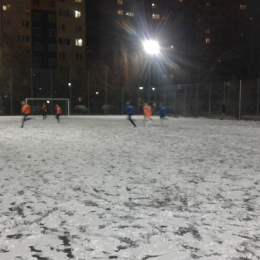 Trening na śniegu