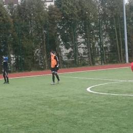Mecz towarzyski z reprezentacją SP nr 10 w Puławach, 20 lutego 2019 (fot. Damian Miroński)