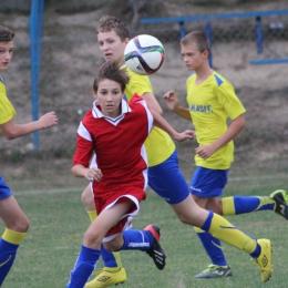Trampkarze: Victoria Koszyce Małe - Błękitni 3:0 (3:0)
