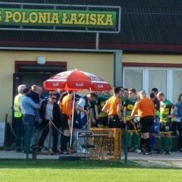 Polonia Łaziska - Gwiazda Skrzyszów 02.04.2017r -  1:2