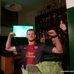 Wspólne oglądanie meczu - El clasico