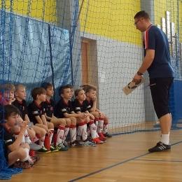 Trener i jego ekipa