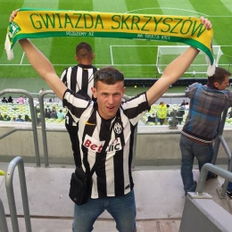 Piłkarze Gwiazdy na PGE Arena w Gdańsku mecz Lechia Gdańsk - Juventus Turyn 1:2