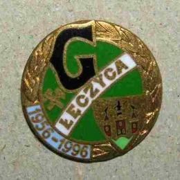 odznaka z okazji 40-lecia istnienia klubu
