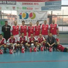 Gwarek Mistrzem Polski Oldbojów 2015 w hali !!