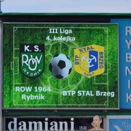 III liga: ROW 1964 Rybnik - Stal Brzeg