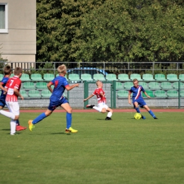 Mecz ligowy w Białych Błotach 11 września 2021 r.