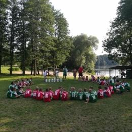 Obóz piłkarski Młynik 2017 zakończenie
