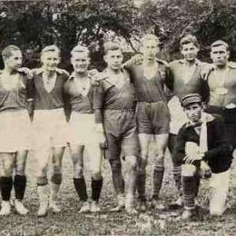 Drużyna piłkarska z Łęczycy (lata 20-te XX w.) Ze zbiorów Muzeum w Łęczycy
