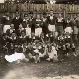 Drużyna piłkarska z Łęczycy (1927 r.) Ze zbiorów Muzeum w Łęczycy