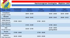 Harmonogram 31.08 - 6.09
