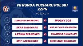 Losowanie VII Rundy Pucharu Polski ZZPN