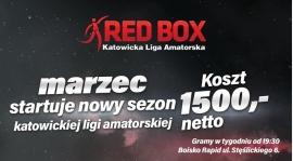 RED BOX - ZGŁOŚ DRUŻYNĘ DO LIGI