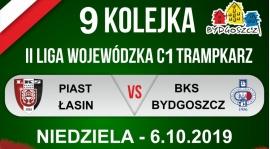 Zapowiedź IX kolejki: Piast Łasin - BKS Bydgoszcz