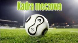 Kadra na mecz mistrzowski LKS Zapole - Pogoń Zduńska Wola