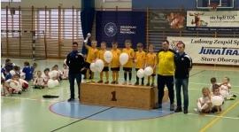 Najmłodsi zagrali w Turnieju Juna Trans Cup w Starych Oborzyskach