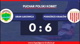 Podgórze w półfinale Pucharu Polski Kobiet na szczeblu Małopolski!