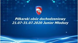 Inormacja o wyjeździe dla grupy Juniora Młodszego w dniu 28.07.2020