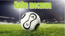 Kadra na mecz mistrzowski MKS Zduńska Wola - Pogoń Zduńska Wola