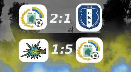 Wygrane obu drużyn Polanu Żabno!