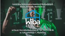 Wiba - generalny wykonawca inwestycji budowlanych sponsorem Orła!