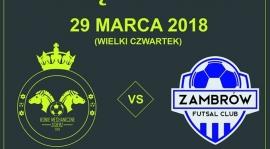 Pierwszy baraż FC Zambrów o I ligę futsalu!