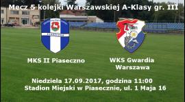 Ciężki mecz z rezerwami MKS Piaseczno
