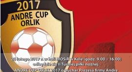 """ROCZNIK 2007: II Turniej """"ANDRE CUP 2017"""" - zapowiedź"""