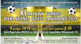 XI halowy turniej dzieci w Jaworznie