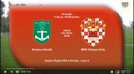 SENIORZY: Kotwica Kórnik - MKS Olimpia Koło 04.05.2019 [VIDEO]