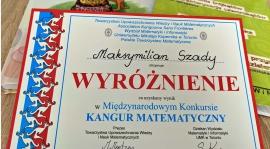 Maks Szady wyróżniony w międzynarodowym konkursie matematycznym