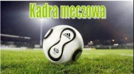 Kadra na mecz mistrzowski Pogoń Zduńska Wola - Słowian Dworszowice