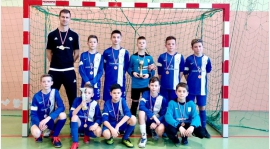 U13: Orzeł Myślenice zdobył Halowe Mistrzostwo Podokręgu Myślenickiego młodzików!