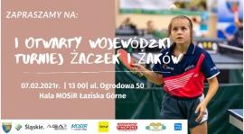 Pierwszy otwarty turniej wojewódzki Żaków i Kadetów