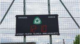 Nowy zegar świetlny na boisku LKS Gwiazda