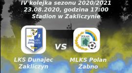 Zapowiedź czwartej kolejki sezonu 2020/2021: LKS Dunajec Zakliczyn vs MLKS Polan Żabno