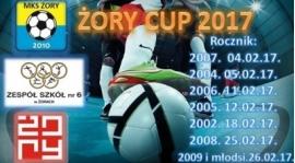 Halowy Turniej Piłki Nożnej Żory CUP 2017 - rocznik 2008