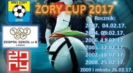 Halowy Turniej Piłki Nożnej Żory Cup 2017 - rocznik 2007