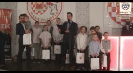 Wigilia Bożego Narodzenia drużyn młodzieżowych MKS Olimpii Koło  2019 [VIDEO]