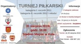 ROCZNIK 2011 i 2012: Turniej Piłkarski na zakończenie Wakacji