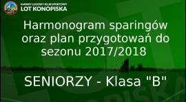 Harmonogram sparingów pierwszej drużyny [AKTUALIZACJA 25.07.2017]