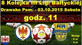 8 Kolejka III Ligi - Drawa vs Arka II Gdynia