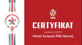 Srebrny certyfikat PZPN!!!