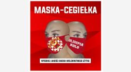 Maseczka - Cegiełka. Wspieraj MKS Olimpię Koło.