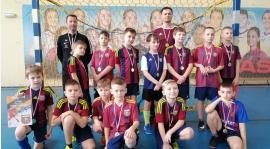Rocznik 2009/2010 na turnieju Tczew Futsal Cup.