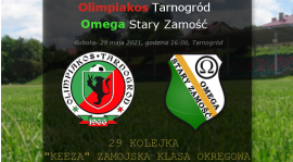 Zapowieź: Olimpiakos- Omega