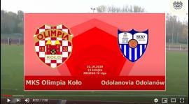 SENIORZY: MKS Olimpia Koło - Odolanovia Odolanów [VIDEO]