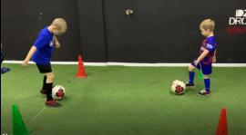 Trening piłki nożnej w domu [25.04.2020]
