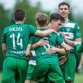 U19: Orzeł Myślenice - Raba Dobczyce [fot. Bartek Ziółkowski]